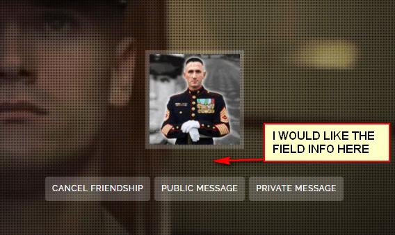 Profile Fields