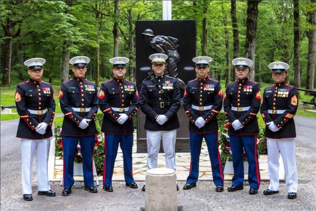 PARIS, FRANCE | The Marine Embassy Guard Association | MEGA