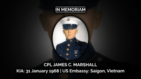 IN MEMORIAM |  CORPORAL JAMES C. MARSHALL